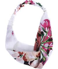 Lesara Haarband mit Blüten-Print - Weiß
