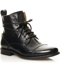 Levi's Emerson Lace Up - Boots en cuir - noir