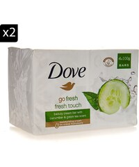 Dove Go Fresh - Lot de 2 packs de 4 savons - 100 g