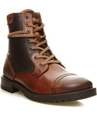 Kaporal Shoes Zarvey - Lederboots - braun
