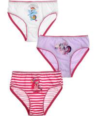 My Little Pony 3 er Pack Slips violett in Größe 92 für Mädchen aus 100% Baumwolle
