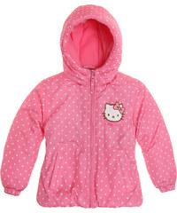Hello Kitty Winterjacke pink in Größe 104 für Mädchen aus 100 % Polyester
