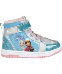 Disney Die Eiskönigin Sneaker high hellblau in Größe 25 für Mädchen aus 100% Polyester