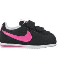 Nike Cortez nYLON - Ledersneakers - schwarz