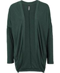 RAINBOW Strickshirt-Jacke, oversized langarm in grün für Damen von bonprix