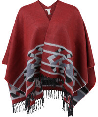 Q/S designed by Blanket-Poncho mit Ethno-Muster