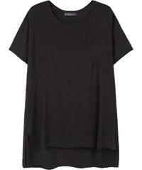 Violeta by Mango T-shirt - noir