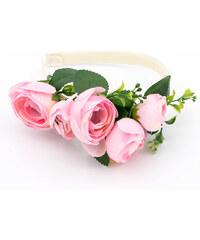 Čelenka do vlasů svatební růže