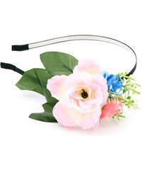 Čelenka do vlasů květinová růže