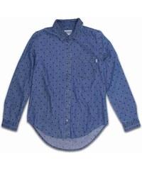 košile VANS - So Rowdy Woven Indigo Dot (FX6)