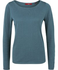 s.Oliver Strickpullover dusty blue