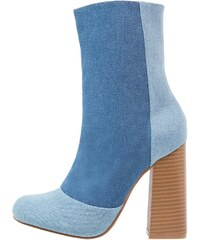 Missguided High Heel Stiefelette blue