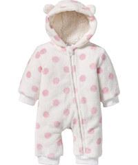 bpc bonprix collection Combinaison bébé douillette polaire peluche blanc enfant - bonprix