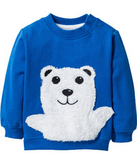 bpc bonprix collection Sweat-shirt bébé en coton bio bleu enfant - bonprix