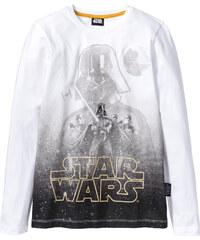 T-shirt à manches longues STAR WARS blanc enfant - bonprix