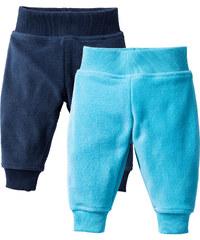 bpc bonprix collection Lot de 2 pantalons bébé en polaire bleu enfant - bonprix