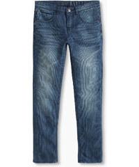 Esprit Pruhované džíny, 5 kapes, nastavitelný pas