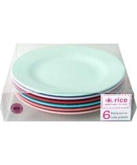 Rice Melaminové talířky Extraordinary - set 6 kusů