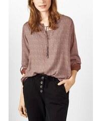 CECIL Damen CECIL Bluse mit Minimalprint goldfarben L (42),M (40),XL (44),XXL (46)