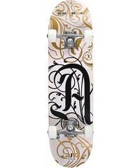 Skateboard Extreme Alliance Design: TRIBAL REBEL weiß