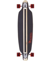Longboard Pacific Palisades red REBEL rot