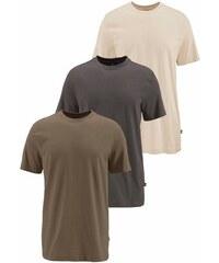 Man s World T-Shirt (Packung 3 tlg.) MAN'S WORLD grün 40/42 (XS),44/46 (S),48/50 (M),52/54 (L),56/58 (XL),60/62 (XXL),64/66 (XXXL),68/70 (4XL),72/74 (5XL)