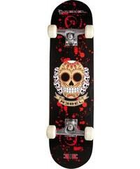 REBEL Skateboard Extreme Alliance Design: SKULL schwarz