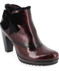 Boots Femme Jose Saenz en Cuir Rouge