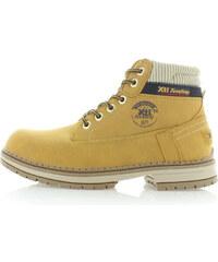 Hořčicové kotníkové boty XTI 46175