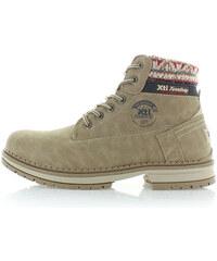 Světle hnědé kotníkové boty XTI 46175