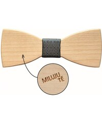 """Dřevěný motýlek """"MILUJU TĚ"""" JVR2"""