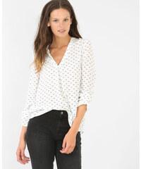 Pimkie Bedruckte Bluse mit V-Ausschnitt