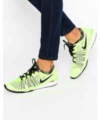 Nike - Dual Fusion - Baskets - Jaune fluo - Jaune