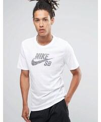Nike - SB Icon Dots 844107-101 - T-shirt - Blanc - Blanc