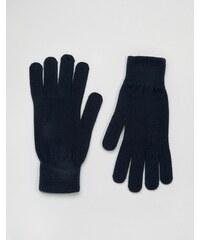 Selected Homme - Leth - Gants - Bleu marine