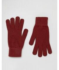 Selected Homme - Leth - Gants - Rouge