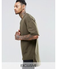 Underated - T-shirt en tissu épais - Vert