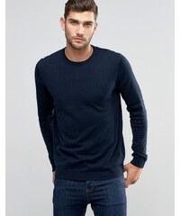 Jack & Jones Premium - Pullover mit Rundhalsausschnitt - Marineblau