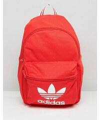 Adidas Originals - Sac à dos avec logo trèfle - Rouge