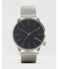 Komono - Winston Royale - Montre à bracelet en maille - Argent - Argenté