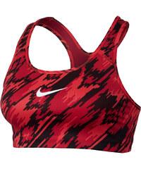 Nike Damen Sport-BH Pro Classic Swoosh Printed