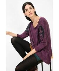 Desigual fialové triko Regina