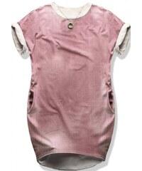 Dámské šaty Gruis růžové - růžová