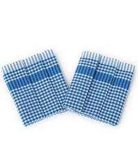 Bade Home Utěrka PAR modrobílá kostka 45x65 cm balení 3 ks