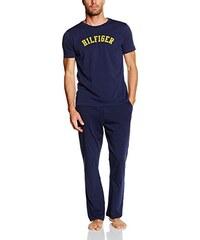 Tommy Hilfiger Herren Zweiteiliger Schlafanzug Icon Jersey Set Ss Print