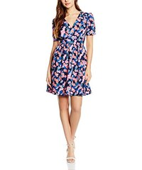 Wolf and Whistle Damen Kleid Ditsy Floral