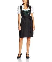 Gaudi-Leathers Dirndl Set 3 Teilig. Trachtenkleid, Dirndl Bluse, passender Schürze in verschiedenen Farben