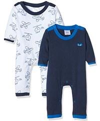 Twins Baby, Jungen Schlafstrampler, 2er Pack