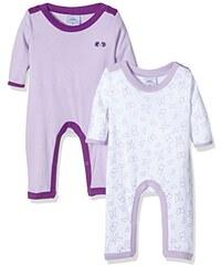 Twins Baby - Mädchen Schlafstrampler, 2er Pack
