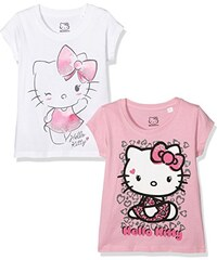 TVMania TV Mania Mädchen T-shirt Hello Kitty, 2er Pack